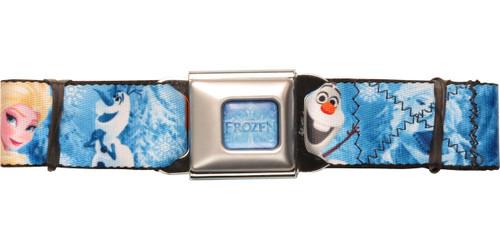Frozen Cold Poses Seatbelt Belt