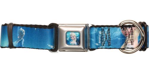 Frozen Anna Elsa Poses Pet Collar