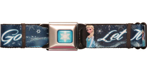 Frozen Elsa Let it Go Seatbelt Belt