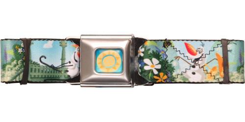Frozen Olaf Garden Seatbelt Belt