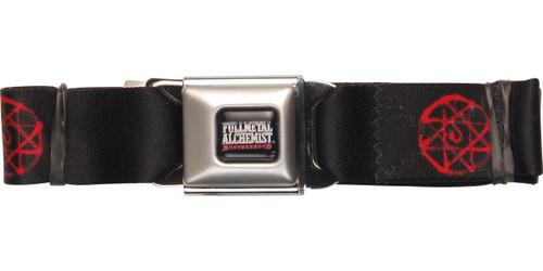 Fullmetal Alchemist Blood Rune Seatbelt Belt