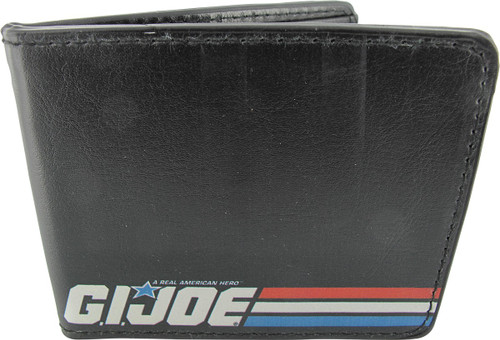GI Joe Logo Stripes Wallet