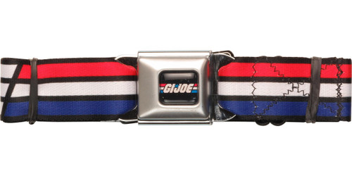 GI Joe Logo Wrap Seatbelt Belt
