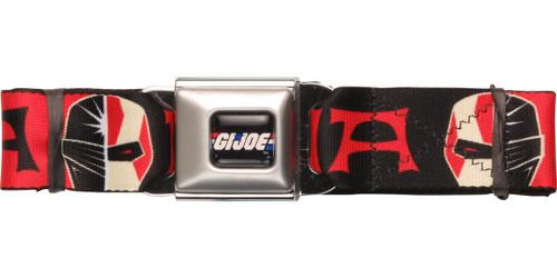 GI Joe Ninja Split Seatbelt Belt