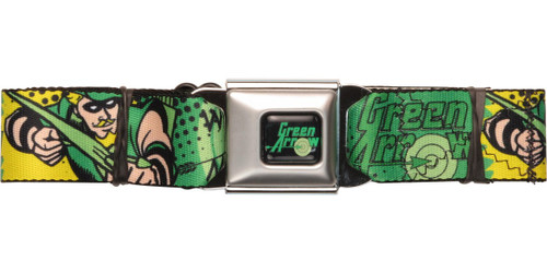 Green Arrow One Man Seatbelt Belt