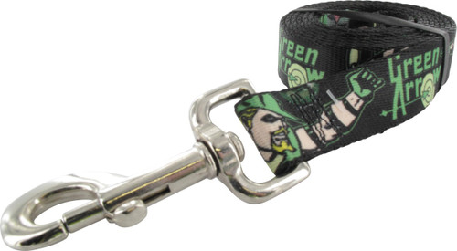 Green Arrow Action Poses Pet Leash