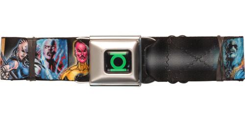 Green Lantern Blackest Night Group Seatbelt Belt