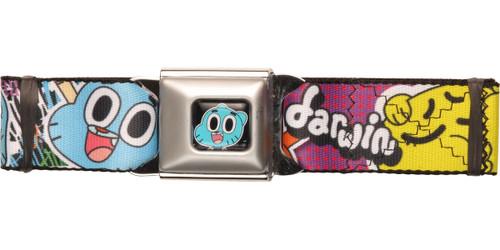 Gumball Darwin Duo Expressions Seatbelt Belt