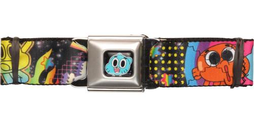 Gumball Logo Dots Seatbelt Belt