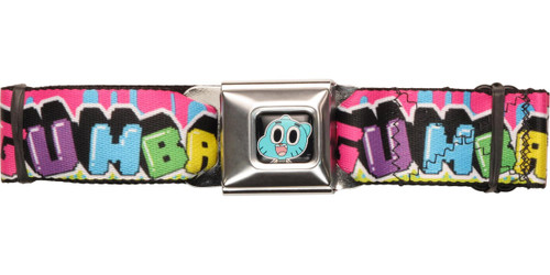 Gumball Angular Name Seatbelt Belt