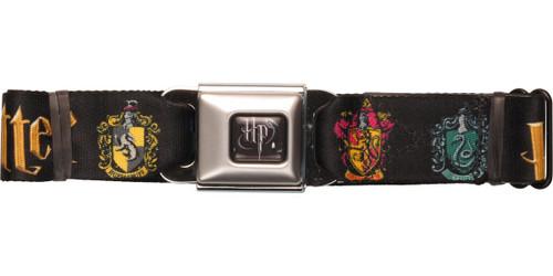 Harry Potter House Crests Seatbelt Belt