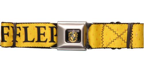 Harry Potter Hufflepuff Name Crest Seatbelt Belt
