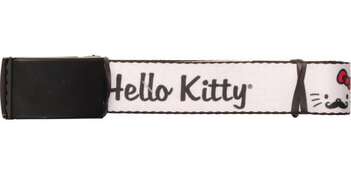 Hello Kitty Mustache Kitty Mesh Belt