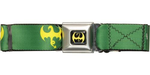 Iron Fist Dragon Logo Seatbelt Belt