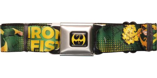 Iron Fist Action Poses Seatbelt Belt