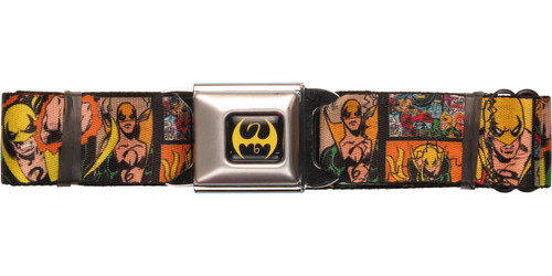 Iron Fist Comic Panels Seatbelt Belt