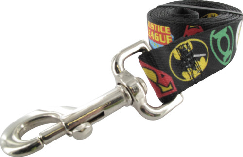 Justice League Logos Pet Leash