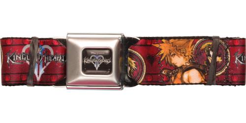 Kingdom Hearts Portrait Emblems Seatbelt Belt