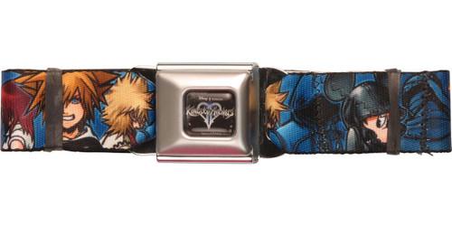 Kingdom Hearts Group Wrap Seatbelt Belt