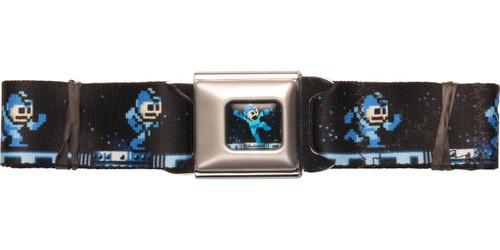 Mega Man Running Seatbelt Belt