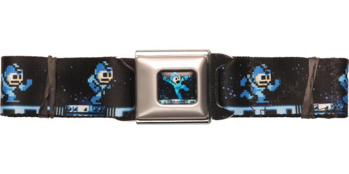Mega Man Running Seatbelt Belt