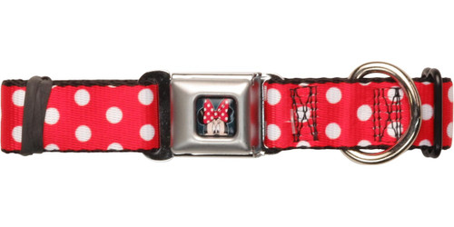 Minnie Mouse Polka Dots Pet Collar