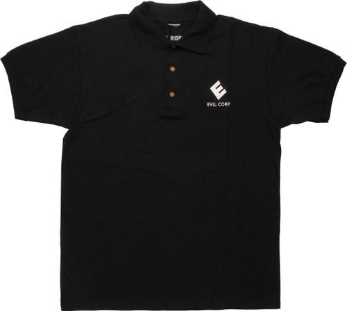 Mr Robot Evil Corp Logo Polo Shirt
