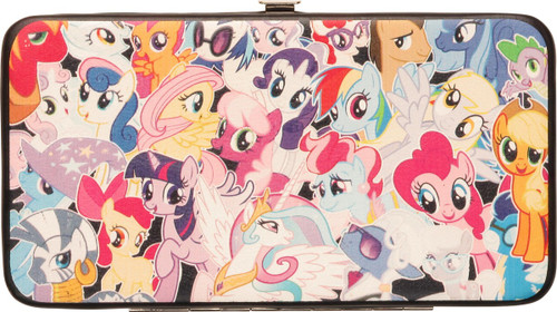 My Little Pony Jumbled Group Clutch Wallet