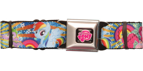 My Little Pony Sunburst Group Seatbelt Belt