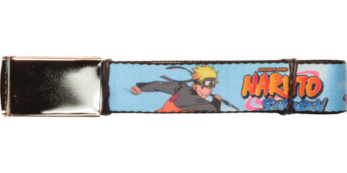 Naruto Shippuden Naruto Battle Stance Mesh Belt