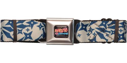Naruto Weapon Jumble Seatbelt Belt