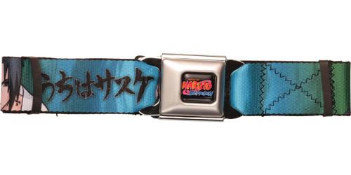 Naruto Sasuke Kakashi Poses Seatbelt Belt