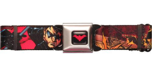 Nightwing Bat Welcome Seatbelt Belt