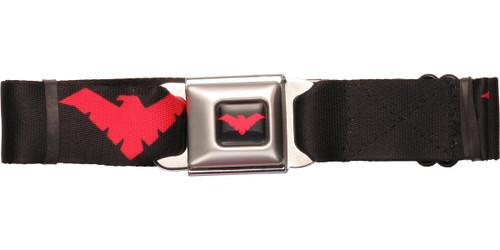 Nightwing Red Logo Seatbelt Belt