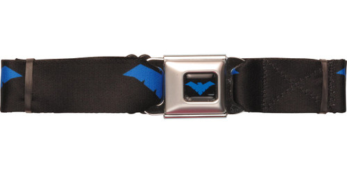 Nightwing Logo Wrap Seatbelt Belt