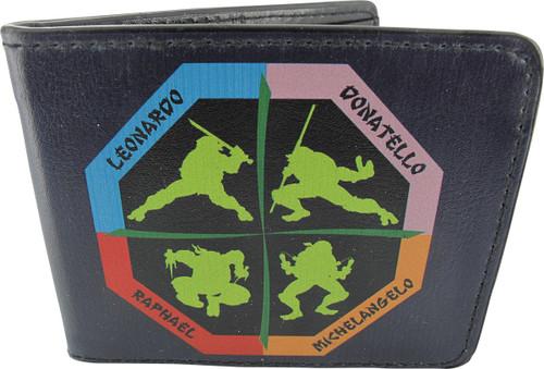 Ninja Turtles Octagon Silhouettes Wallet