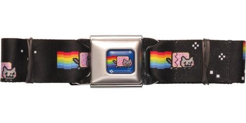 Nyan Cat Space Seatbelt Belt