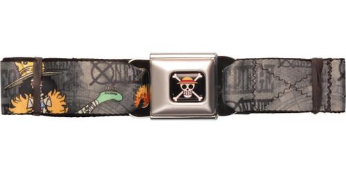 One Piece Brook Poses Seatbelt Belt