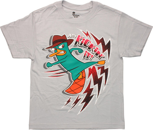 Phineas and Ferb Perry Kickin It Youth T-Shirt