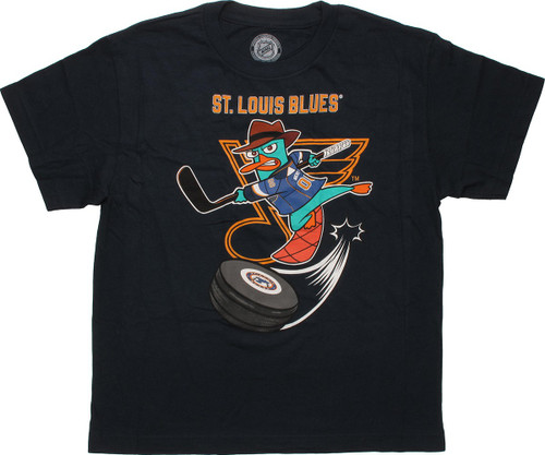 Phineas and Ferb St Louis Blues Youth T-Shirt