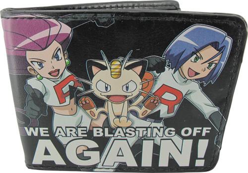 Pokemon Team Rocket Blasting Off Wallet