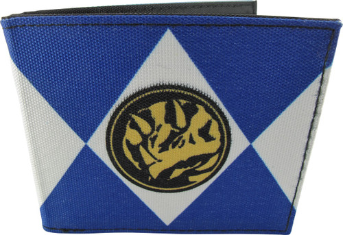 Power Rangers Blue Uniform Bi-fold Wallet