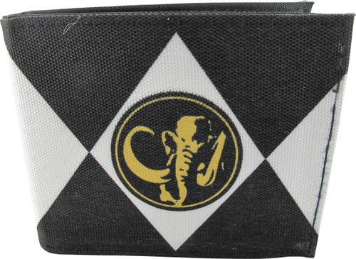 Power Rangers Black Uniform Bi-fold Wallet