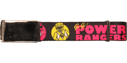 Power Rangers Go Go Team Circles Mesh Belt