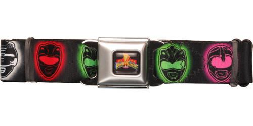 Power Rangers Glow Helmets Seatbelt Belt