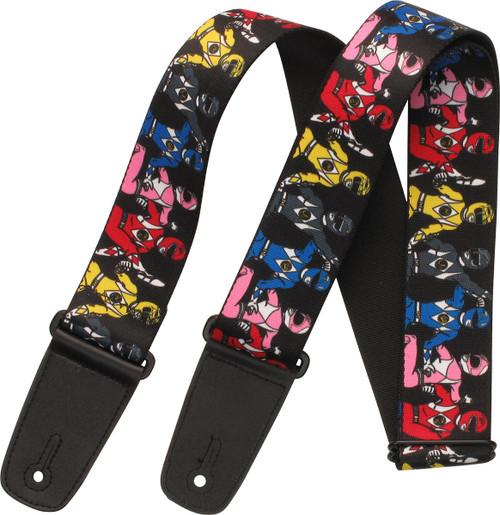 Power Rangers Ranger Line Wrap Guitar Strap