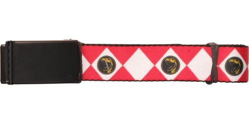 Power Rangers Red Suit Mesh Belt