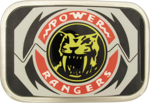 Power Rangers Sabertooth Tiger Morpher Belt Buckle