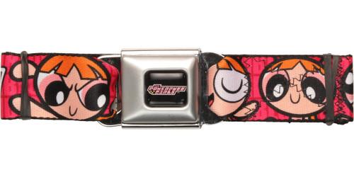 Powerpuff Girls Blossom Wrap Seatbelt Belt