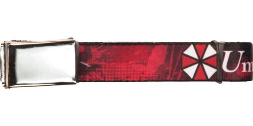 Resident Evil Umbrella Splatter Mesh Belt